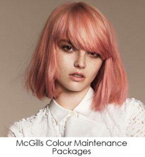McGills Colour Maintenance Packages