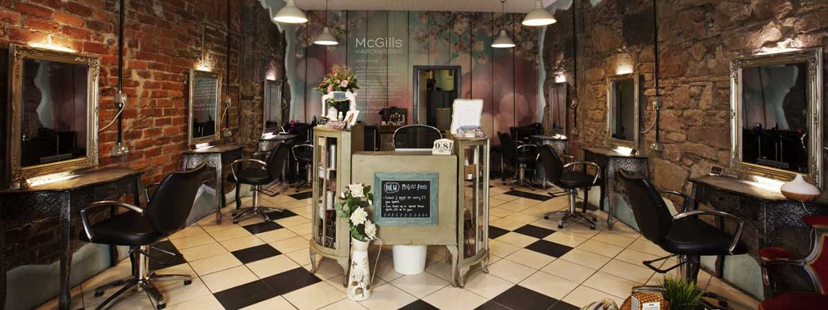 Top Hair Salon in Edinburgh, McGills Hairdressing Salon in Edinburgh