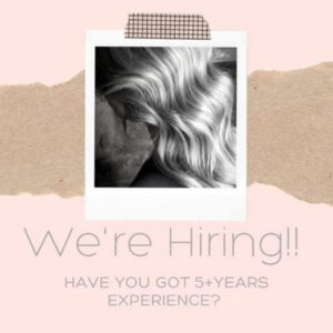 Experienced Stylist Required