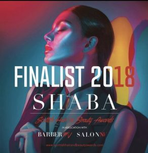 We Are Finalists at the Scottish Hair and Beauty Awards!