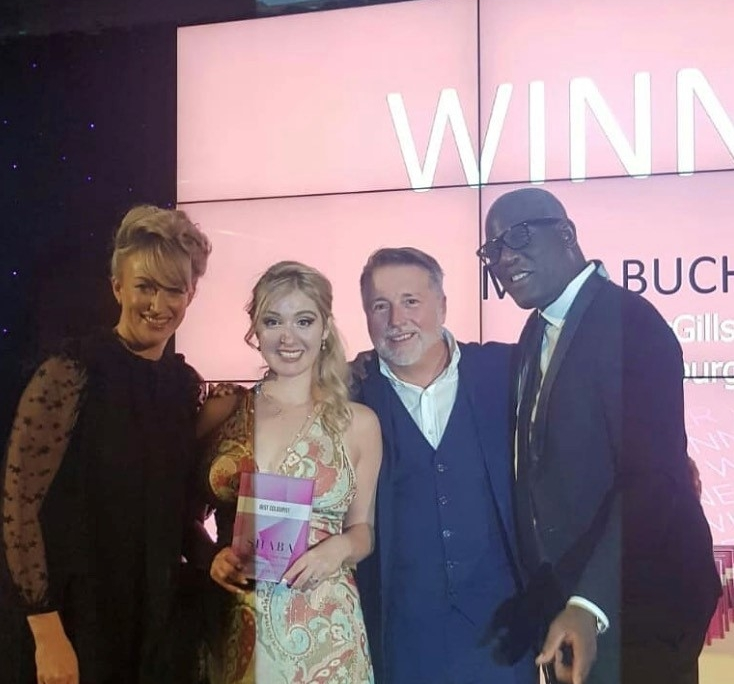 Maya 'Best Colourist' at SHABA Awards 2018